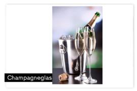 Champagneglas met naam