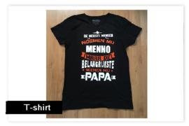 T-shirt De meeste...