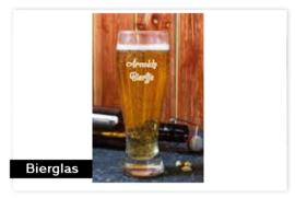 Bierglas met naam