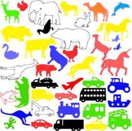 Dieren en Auto's