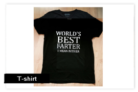 T-shirt World's best...