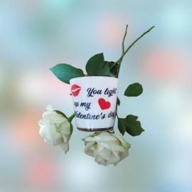 Theelichtje Valentijn