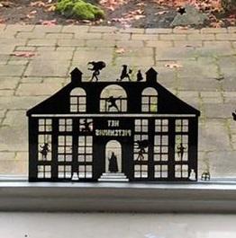 Raamfolie Pietenhuis