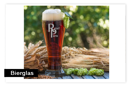 Bierglas met logo