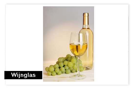 Wijnglas met naam