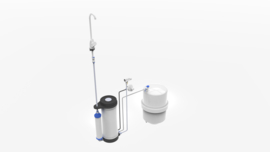 Aqua-Core C25RW osmosetoestel zonder pomp met tapkraan nr 1