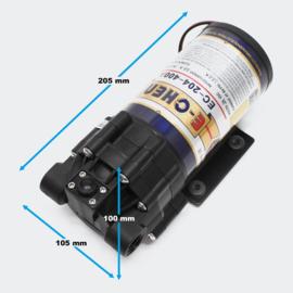 Boosterpomp 400 GPD 1500l/dag osmosetoestel