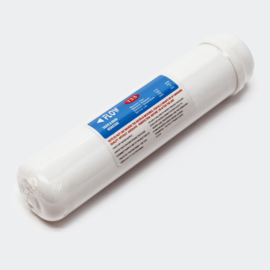 "Inline osmose actieve kool filter 72mm 2x1/4"" binnendraad"