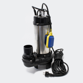 Vuilwaterpomp afvalwaterpomp RVS 31200 l/h ECO 2200w met vuifrees