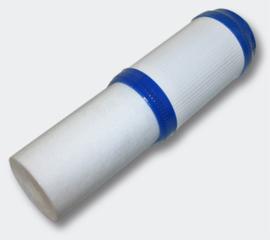 """Filterpatroon sediment/aktieve kool 5 micron 10""""(254mm) 62mm"""