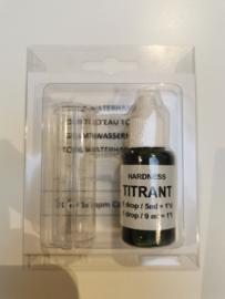 Testkit watertester waterhardheid kalk