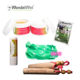 WandelHout Zuivere Lanoline & Helende creme-pakket met gratis col!