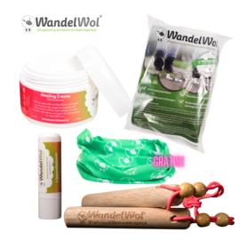 WandelHout & Helende Creme-pakket met gratis col!
