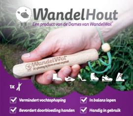 WandelHout tegen opgezette vingers en handen