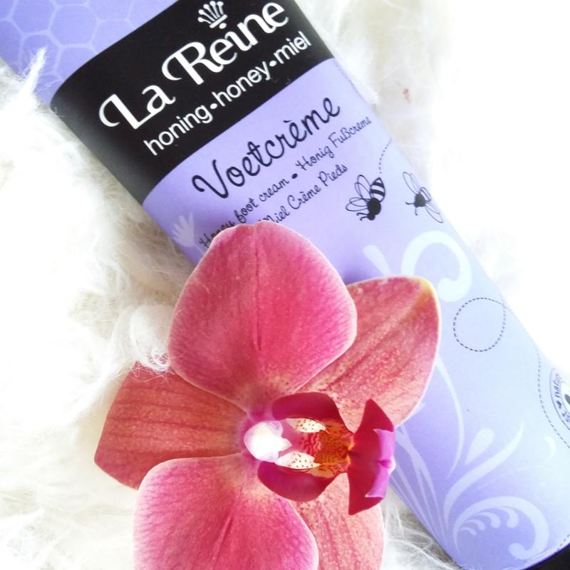 La Reine Honing voetcreme