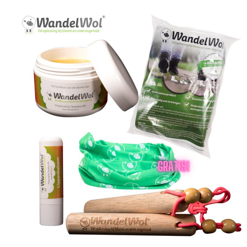 WandelHout & Zuivere Lanoline-pakket met gratis col!
