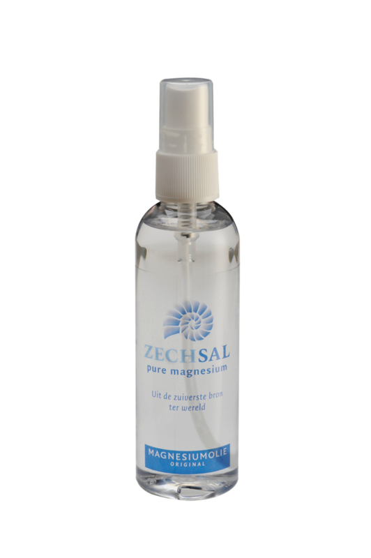 Zechsal magnesiumolie, 100 ml. In handige spray flacon