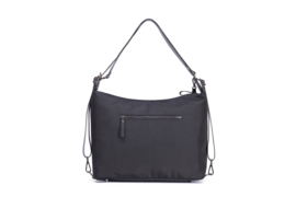 4 in 1 ( Diaper) Smartbag black with gun metal