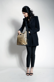 4 in 1 (Diaper) Smartbag Leopard gold