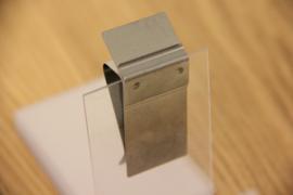 Houder voor rand 1/10 mm, type RAND001, staand kaartje