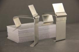 Houder voor  extra dikke manden type MAND002 tbv staand kaartje
