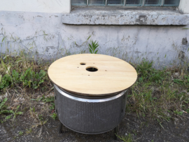 Tafelblad voor wasmachinetrommel vuurkorf