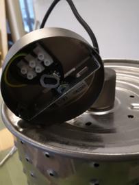 Hanglamp gemaakt van gerecyclede wasmachinetrommel klein