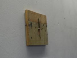 sloophouten klok