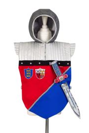 Frederik ridder tuniek inclusief zwaard