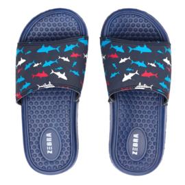 Slippers Shark Blue
