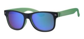 Zonnebril groen/zwart