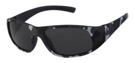 Leger print zonnebril (grijs)