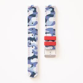 Twistiti artic Camo Horloge bandje