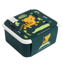 A little lovely Company: Lunch & Snack box jungle tiger