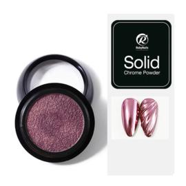 Solid Chrome Powder Pink