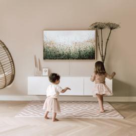 Eeveve | playmat Modern blocks - oud roze