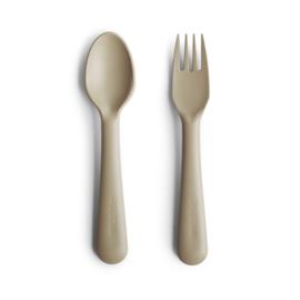 Fork and Spoon Set (Vanilla)