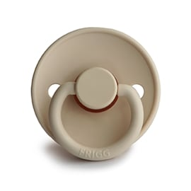 FRIGG Natural Rubber Pacifier (sand stone)