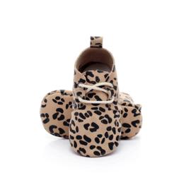 Schoentjes Leopard bruin