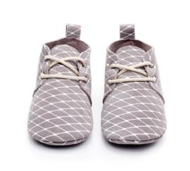 Schoentjes grijs/ruit