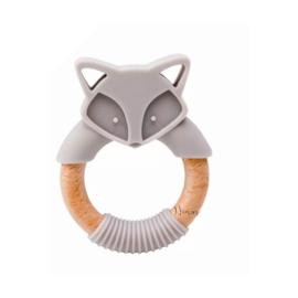 Bijtring Fox | grijs