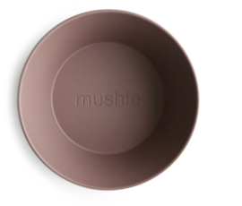 Round Dinnerware Bowl, Set of 2 (Woodchuck)