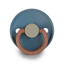 FRIGG Silicone Pacifier | Colorblock (breeze)
