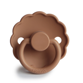 FRIGG Daisy Natural Rubber Pacifier (peach bronze)