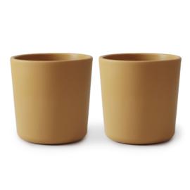 Dinnerware Cup, Set of 2 (Mustard)