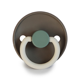 FRIGG Silicone Pacifier | Colorblock (hudson bay)