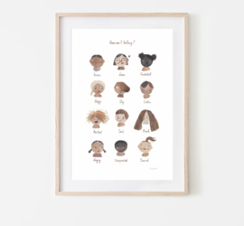 Mushie | Gevoelens Poster