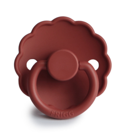 FRIGG Daisy Natural Rubber Pacifier (baked clay)
