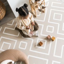 Eeveve | playmat Modern blocks - Woestijnzand