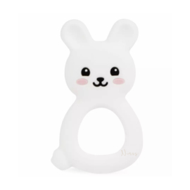 Bijtring Bunny wit